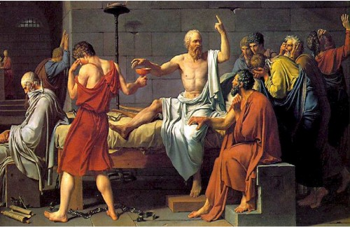 socrates with hemlock